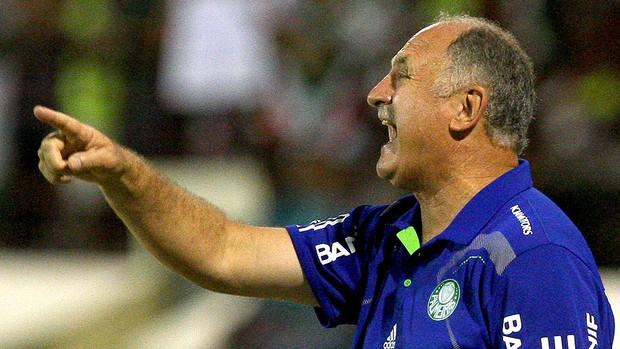 Felipão comanda Palmeiras contra o Coruripe