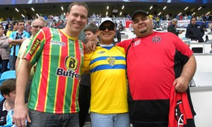 Torcedores camisa clube