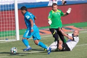 Hulk marca contra o Torpedo