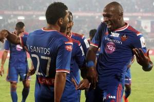 André Santos comemora contra o Kerala