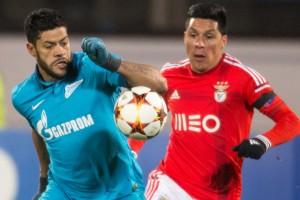Hulk contra o Benfica