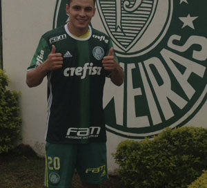 Raphael Veiga no Palmeiras