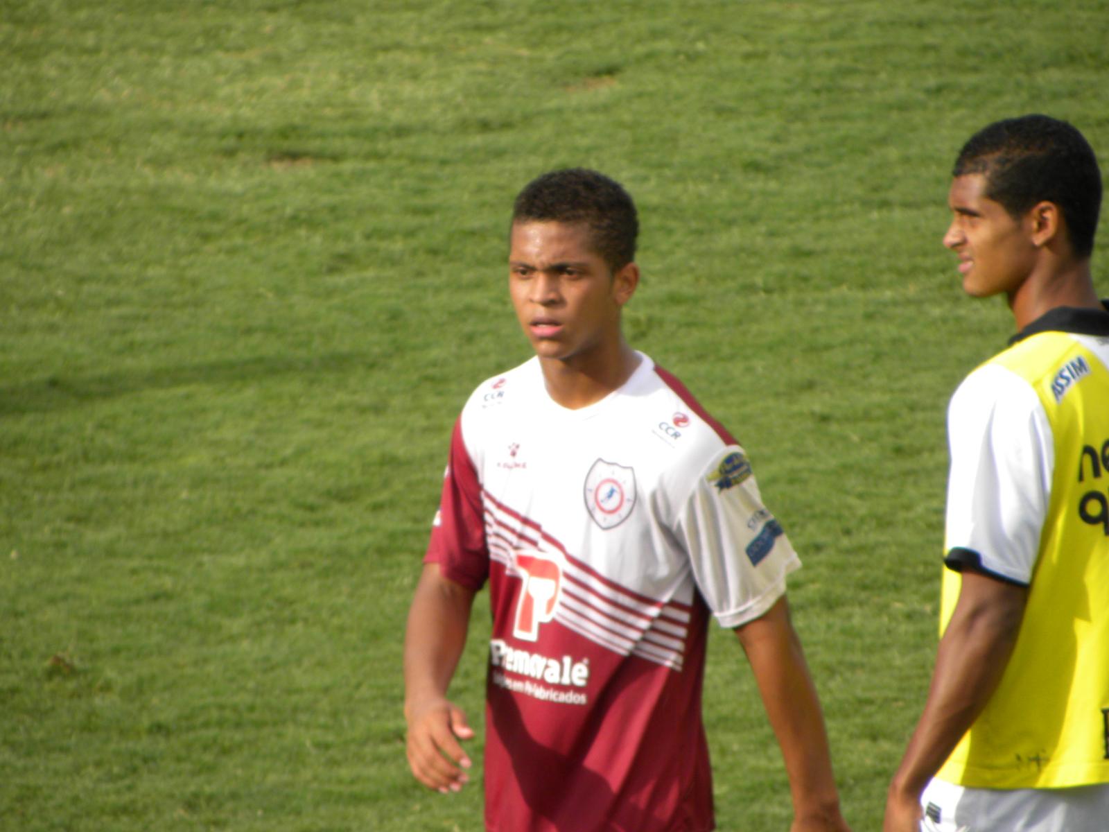 Fabrício atuando contra o Corinthians ba Copa São Paulo